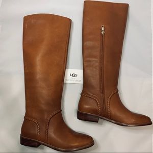 NEW Ugg Rustic Leather Knee Boots - Wmns Size 7